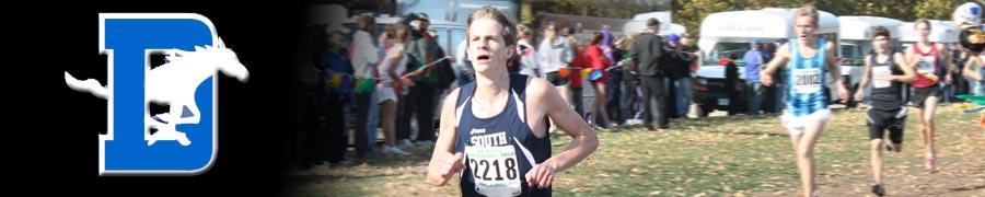 DGS XC 2011 - Nick Kirk All-State 14th place