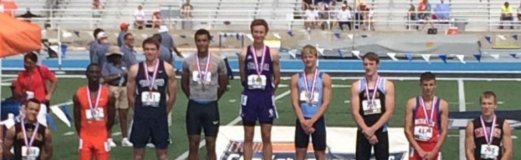 Ben Friesen: 400m State Champion!