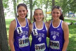 STATE INTERVIEW: 3,200 relay Allison van de Wetering, Karly Harkness, Emma van de Wetering