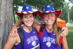 STATE INTERVIEW: Discus Erin Beatty, Maggie Fleming
