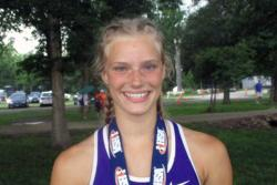 STATE INTERVIEW: Pole vault, 400 relay Mia Bowers