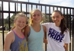 VIDEO INTERVIEW: Claire Pyne, Sydney Hnatiuk, Madelyn Walter