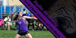 Bradley picks up CCAC Field Athlete of the Week honors