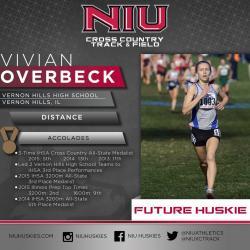 Vivian Overbeck commits to NIU