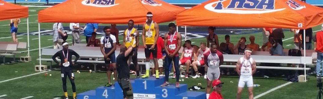 2016 STATE MEET Jaurice Thomas 3rd in 200m