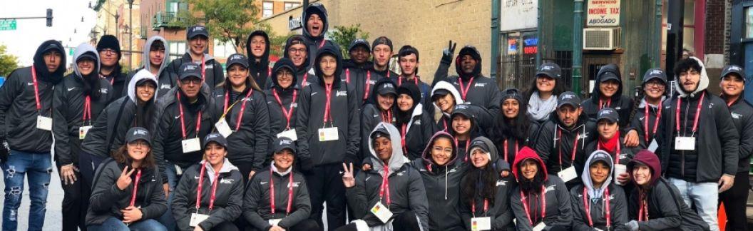 Volunteering at the 2019 Chicago Marathon